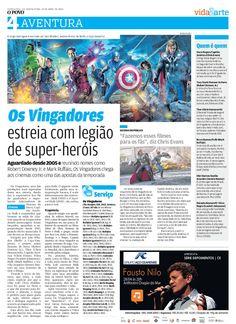"""27/04/2012 - """"Os Vingadores"""", aguardado desde 2005, estreia com força total sendo a melhor adaptação dos quadrinhos para as telonas da história!"""