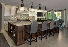 Jeffrey King Interiors Bloomfield Hill, MI Renovation Single Family Home Traditional/Contemporary Dining Rooms, Kitchen Dining, Bloomfield Homes, Beautiful Interiors, Single Family, Home Interior Design, Home And Family, Kitchens, King