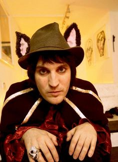 Noel Fielding-I love his hat and his mind.