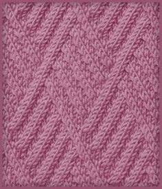 Here we go again, another cute stitch in Russian. If you're a seasoned knitter, you'll understand the chart!
