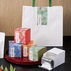 煎茶 ほうじ茶 箱 パッケージ
