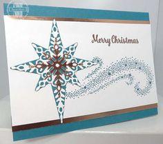 Star Of Light, Copper Foil, Stampin Up, susanstamps.wordpress.com