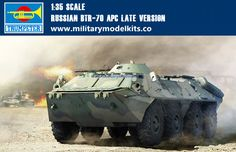 Russian BTR-70 APC Late Version Trumpeter 01591