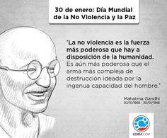 Día Mundial de la No Violencia y la Paz