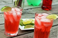 3. #Cherry Limeade - 8 #Fruity Non-Alcoholic #Drink Recipes - #Which Would You Try? → Food #Alcoholic