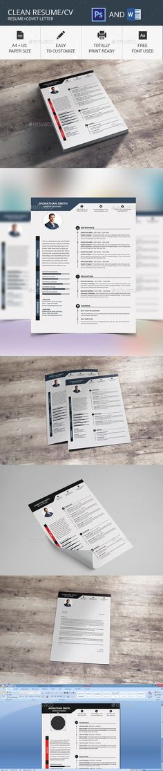 Resume\/CV (2 Page) Illustrators, Ai illustrator and Template - ms resume template
