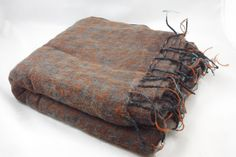 Nepalese Yak Wool Large Throw Blanket/Shawl by OxfordCraftNepal on Etsy https://www.etsy.com/listing/224457923/nepalese-yak-wool-large-throw