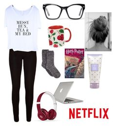 """Lazy day/Sick day essentials"" by gcgravett on Polyvore featuring Spitfire, Charter Club, Speck and Beats by Dr. Dre"
