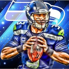 Seahawks - Russell Wilson #3 -  love this.