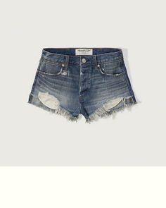 3ace24317b04 Womens High Rise Festival Shorts High Waisted Ripped Shorts, Distressed  High Waisted Shorts, High
