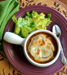 This Onion Soup recipe is rich and flavorful and I could eat it everyday.
