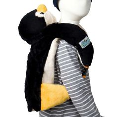 Penguin Luggable|Fab Style Kids Rooms http://fabstylekidsrooms.com/Apparel-and-More/Travel-Buddies/Penguin-Luggable #kids