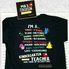Custom Wording Personalized Teacher Shirt