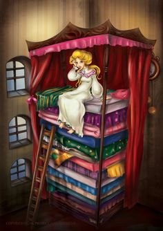 The Princess and the Pea by RosieVangelova on DeviantArt