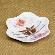 Marjolein Bastin Nature's Journey dragonfly spoon rest