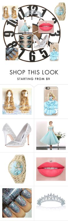 """""""DISNEY Collection: Cinderella"""" by softbell ❤ liked on Polyvore featuring WALL, Casetify, Alice + Olivia, Disney and Bling Jewelry"""