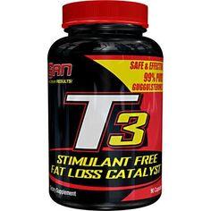 SAN Nutrition T3 Stimulant Free Fat Loss - 90 Caps