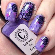 purple garden Instagram photo by @Amanda S via ink361.com