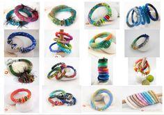 """COLLECTION """"Bracelets dans mon corbillon"""" Bracelets, bangle ou manchette : Bracelet par dans-mon-corbillon"""