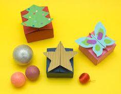 Resultado de imagen para como hacer cajas pequeñas para regalo