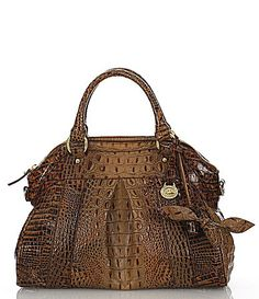 Brahmin Toasted Almond Collection Louise Rose Satchel Dillards Need This In A Navy Or Black