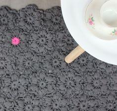 bloemenkleed haken, gratis patroon Wolplein