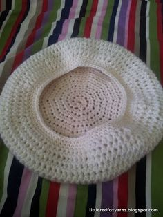 Slouchy Beret Hat Free Crochet pattern                                                                                                                                                                                 More