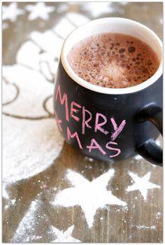 Love the Christmas mug.