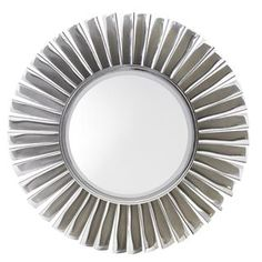 Lexington Home Brands Glamorous Mirage Fontaine Round Mirror. Sunburst style mirrors are the ultimate in glitz and glamour! Large Furniture, Custom Furniture, Mirror Furniture, Hooker Furniture, Sun Mirror, Wall Mirror, Lexington Furniture, Lexington Home, Avenue Design