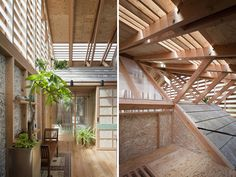 a.a. + H architecture: outside (outside) interior renovation
