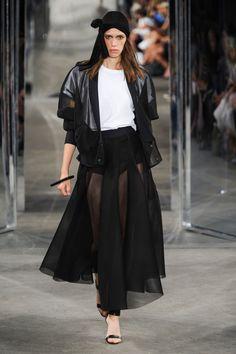 Milly at New York Fashion Week Spring 2015.