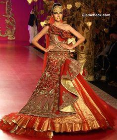 Ritu Beri Bridal Collection at Delhi Couture Week 2013