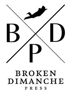 Broken Dimanche Press - Hipster Logo