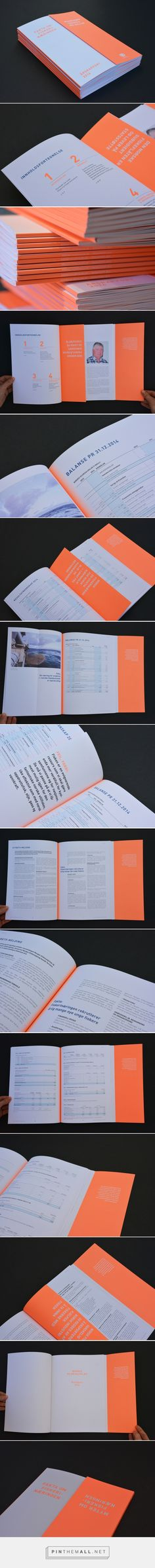 Myths and facts — Annual report for Norges Sildesalgslag. Design by Designbyrået…