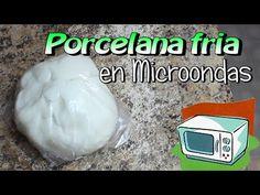La mejor Receta de Porcelana Fria en Microondas / pasta flexible / Porcelanicron - YouTube