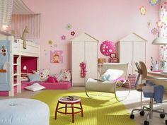 B's Dream Room.  She likes this one particularly so her cousin's can sleep over and there's plenty of space.