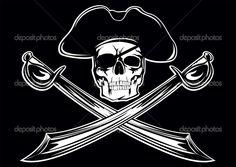 free wallpaper of pirate woman firing guns | Design ~ Jolly Rogers ...