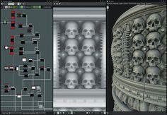 Create a procedural column with Substance Designer Substance Designer Tutorial, Maya Modeling, Unreal Engine, Seamless Textures, Texture Art, Zbrush, Drawing Tips, Dark Fantasy, Game Design