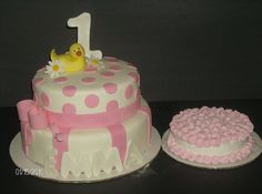 Pink Rubber Ducky Cake