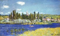 "Claude Monet ""Vetheuil"" 1880"