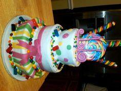 Candy theme sweet 16 cake