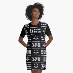 'Future Lawyer - student of law school' Graphic T-Shirt Dress by RIVEofficial Best Shopping Websites, Cheap Online Shopping, Online Shopping Clothes, Online Beauty Store, Clothing Sites, Black Pride, Black Girl Fashion, Black History Month, Civil Rights
