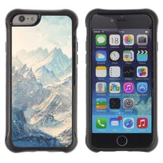 SHIMIN CAO@ Mountains Snow Winter Clouds White Rugged Hybrid Armor Slim Protection Case Cover Shell For iphone 6 6S CASE Cover ,iphone 6 4.7 case,iphone 6 cover ,Cases for iphone 6S 4.7. Dual layer shock protection. 100% brand new. Premium quality shock resistant TPU & strong Polycarbonate hybrid case. Protect your phone with this stylish premium high-quality case. The sides are covered with a grip enhancing pattern.