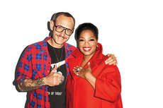Terry Richardson and Oprah Team Up for Harper's Bazaar Magazine #celebs trendhunter.com