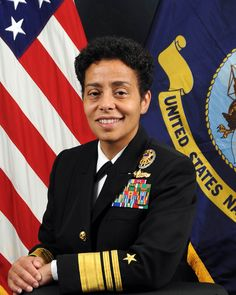 Michelle Howard became the Navy's first female four-star admiral.