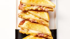 Comfort food wins 100% of the time, and this update on the grilled ham and cheese takes things up a notch. Made with an easy-to-make but seriously impressive fig mostarda, and layered with ham and slices of smoked cheddar, it's the kind of sammie you can make a meal out of.