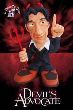 Devil's Advocate!!! - Cake by Moustoula Eleni (Οι Τούρτες Της Ελένης)