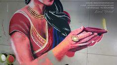 Rangoli Design for Diwali 2017 - Created by Artist Kamal Nishad +91 9501247988 (15)_