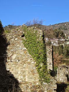 Isolabona (IM), ruderi della cartiera della Signoria dei Doria