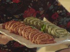 Špenátová slaná roláda — Všechno, co mám ráda — Česká televize Sushi, Sausage, Meat, Ethnic Recipes, Sausages, Sushi Rolls, Chinese Sausage